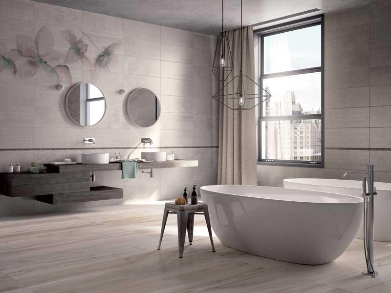 bagno moderno » rivestimenti bagno moderno piccolo - galleria foto ... - Rivestimenti X Bagni Moderni