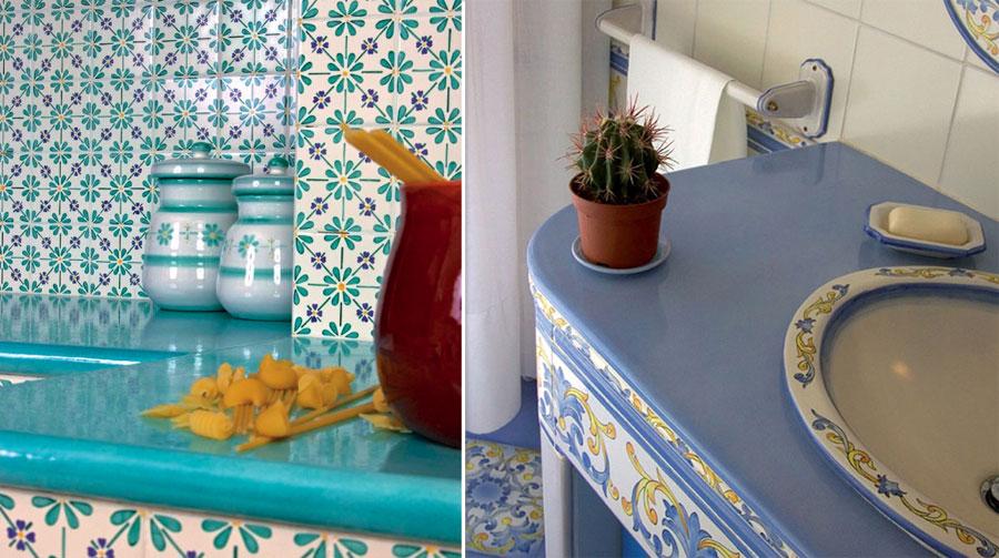 Bagni vietri foto valorizzare il bagno con le piastrelle - Ceramiche di vietri bagno ...