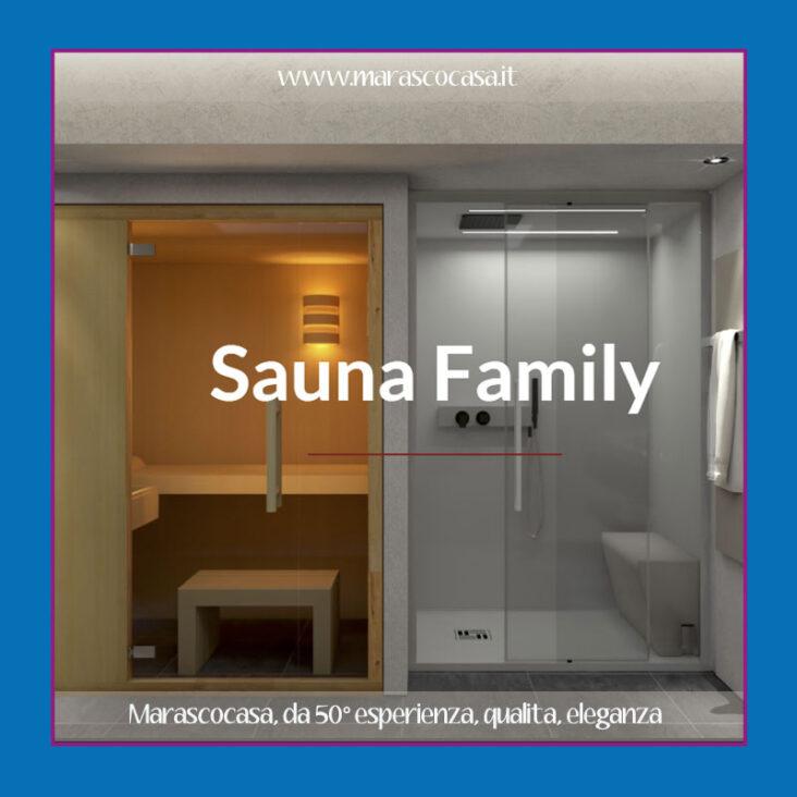 sauna a casa
